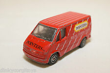 CORGI TOYS FORD TRANSIT VAN POINTERS TM REAL FOOD FAST RED EXCELLENT CONDITION