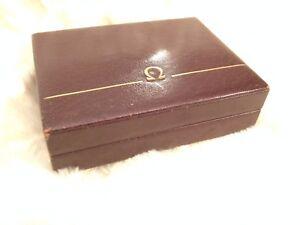 Omega vintage 1960s watch box