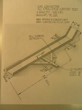 """Motorcycle Carrier/Hitch mount rack;Class 3/2"""" square Receiver;900 lbs capacity"""