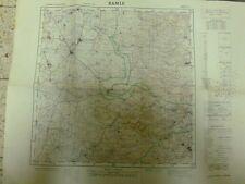 Israel Goverment Ramle Map 50*35Cm 50*65 Cm 1956 Israel Rare