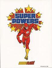 DC SUPER POWERS PRINT  - THE FLASH