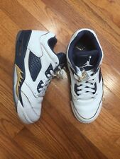 Air Jordan Retro 5 Low Mens Authentic Basketball Shoes, Size 8 Dunk From Above
