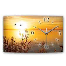 Lago silencioso Designer radio reloj de pared radiocontrolado diseño moderno * made in Germany