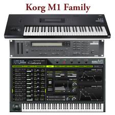 Most Sounds: Korg M1 M1R M1EX M1REX, M1 Legacy, T1 T2 T3