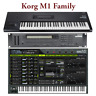 Most Sounds: Korg M1 M1R M1EX M1REX, M1 Legacy, T1 T2 T3