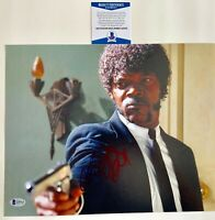 Samuel L Jackson Autographed Pulp Fiction 11x14 Photo Signed WIth Beckett COA