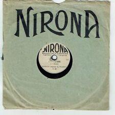 78T 18 cm Marcel DUMONT Jazz Pygmo Disque Phono Film IL EST CHARMANT -NIRONA 529