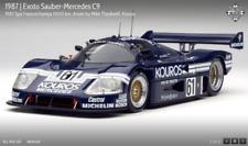 EXOTO 87 Sauber-Mercedes C-9 #61 Spa Francorchamps 1000km 1:18 NIB #RLG18192