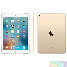 "Apple  iPad Pro Gold 128GB 9.7"" WiFi Unlocked AU WARRANTY Tablet"