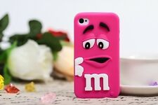FUNDA CARCASA m&m EMANEMS PARA IPHONE 6/6s PLUS COLOR FUCSIA