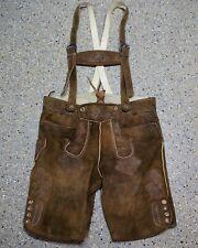 Trachten Wildbock Lederhose von Country Maddox Grösse 56 Herren kurz D822