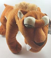 "Ice Age Continental Drift DIEGO SABERTOOTH TIGER 13"" Plush Stuffed Animal NEW"