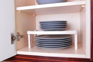 Schrankeinsatz Teller Regal Teller Halter Küchenregal Aufbewahrung 3 Stück