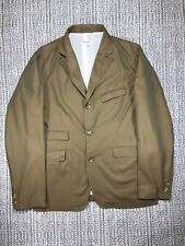 ENGINEERED GARMENTS, ANDOVER JACKET, MEN'S LARGE, DEAD STOCK, GOLD BROWN COTTON