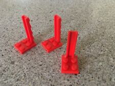 LEGO 3 Red bracket #2422 / from Set 1682 6394 6989 ...