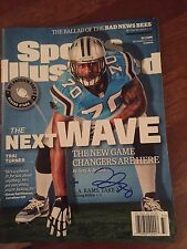 Trai Turner Signed Autograph Sports Illustrated Regional Cover Panthers
