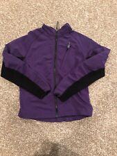 Ladies Ibex Size S Purple Jacket Full Zip Pockets