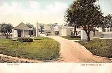East Providence Rhode Island Hunts Mills Street Scene Antique Postcard K23511