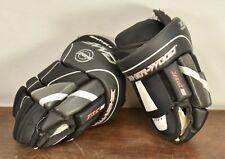 """SHER-WOOD Rhythm 5 RM5 9"""" Black Hockey Gloves"""