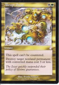 Abrupt Decay MTG CCG Timeshifted Time Spiral Remastered M/NM