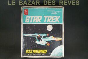 AMT. KIT.STAR TREK.Maquette.USS ENTERPRISE Vintage kit 1983.(45 cms)sans decals