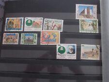 Lot de 10 timbres - Liban
