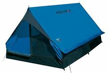 High Peak 10155 Tente Canadienne Mixte adulte Bleu/gris Foncé L