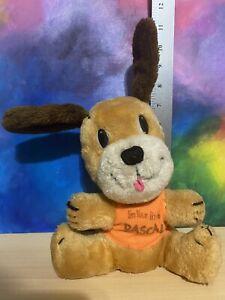 Vintage 1977 Dakin I'm Your Little Rascal Puppy Dog Plush Stuffed Animal Toy