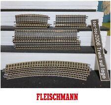 FLEISCHMANN PROFI GLEIS BINARI 6120 6101 6102 6122 1:87 H0 HO (1)
