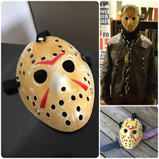 Kids Halloween Mask Friday The 13th Hockey Mask Costume Jason Voorhees Horror