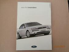Ford Mondeo brochure.2000. Excellent un-circulated condition