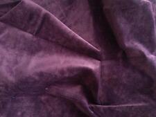 LUCIANO MARCATO tessuto stoffa design GINSENG scampolo VELLUTO cangiante viola