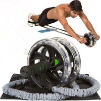 Abdominal Rope Down Push Pull Cord Abdominal Ab Roller Waist Slimming Equipment