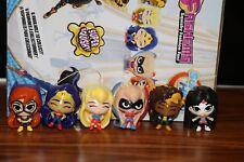 Dc Super Hero Girls Fashems Complete Set Mini Squishy Girl Toy Gift Set Lot 1