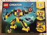 31090 LEGO Creator Underwater Robot 207 Pieces Age 7+ New Release for 2019!