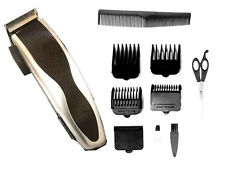 PROFESSIONAL 10 PIECE MENS HAIR CLIPPER SHAVER GROOMING KIT CUTTING BEARD SHAVE