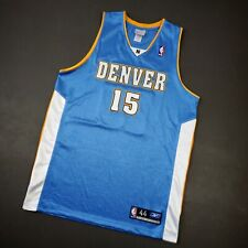 100% Authentic Carmelo Anthony Vintage Reebok Nuggets Jersey Size 44 L XL Mens
