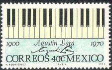 Mexico 1971 Augustin Lara/Music/Musicians/Composers/Piano Keyboard 1v (n42889)