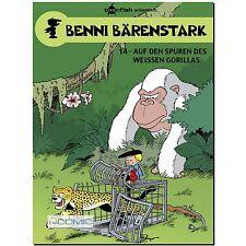 Benni Bärenstark 14 Auf den Spuren des weißen Gorillas FUNNY COMIC PEYO LP 70er