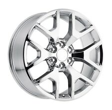 "4 20"" Chrome GMC Yukon Tahoe Silverado Suburban Escalade Platinum Wheels Rims"