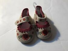 New Baby Girls Shoes Size Eur 19-20 Us 9-12 Mths