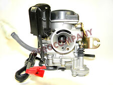 Carburetor 50cc Scooter GY6 139QMB Moped 49cc 60cc Sunl Baja with Electric Choke