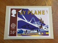Transport and Communications (By Plane)1988 Royal Mail Stamp Postcard