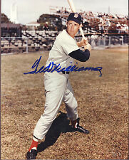 Ted Williams Signed 8 x 10 Photo - with COA