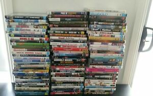 Mixed Movie DVDs different genres will be adding daily action adventure