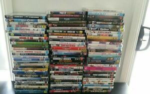 Mixed Movie DVDs different genres will be adding daily - something for everyone