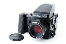 Mamiya M645 Super Sekor C 80mm F2.8 Lens W/ AE Finder Wider Grip [Exc+++] Japan