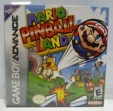 MARIO PINBALL LAND GAME BOY ADVANCE NTSC USA REGION FREE NEW SEALED