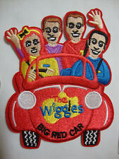The Wiggles in their Big Red Car embroidered (material) Iron on BRAND NEW