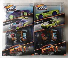 Hot Wheels Ai x2 Race Cars - Street Shaker & Turbo Diesel BRAND NEW